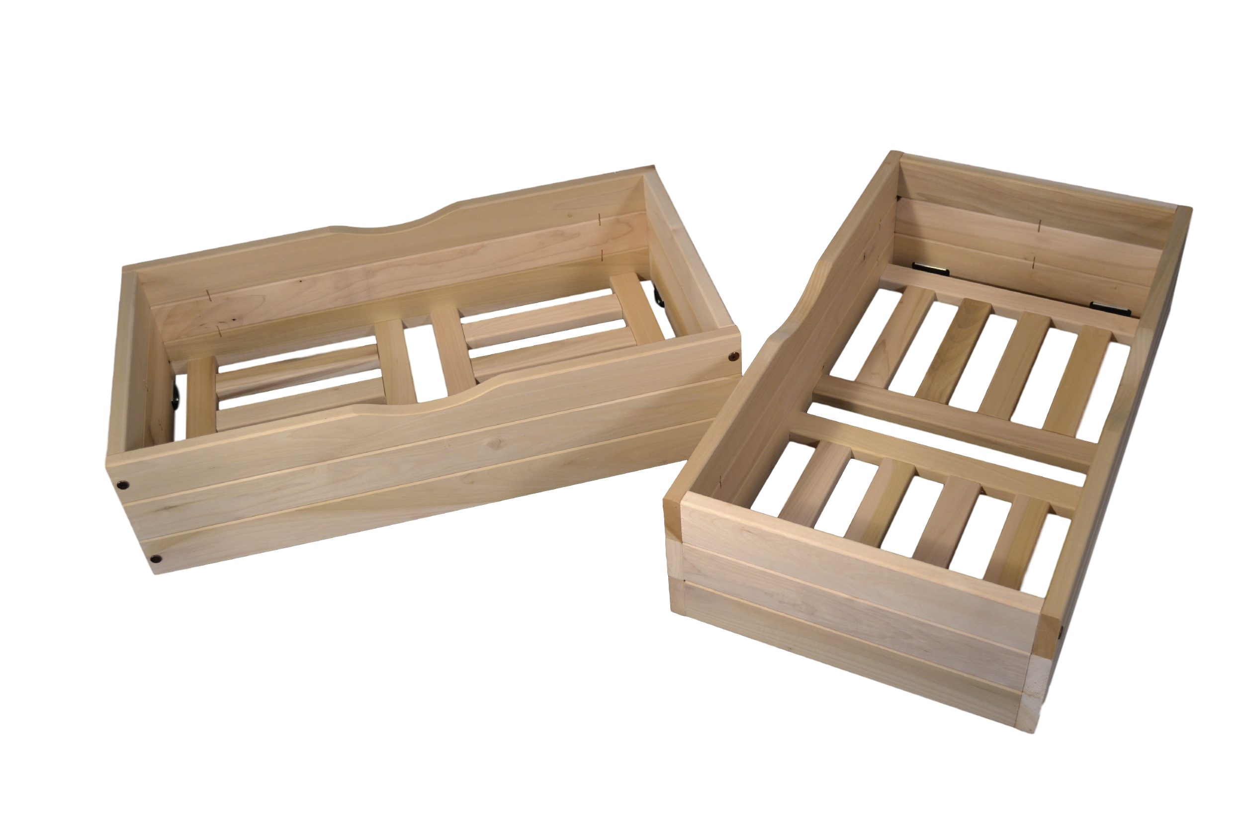 Under Bed Rolling Storage Drawers Set